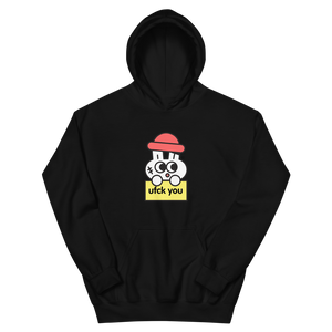 ufck you® Hoodie (black, white, grey)