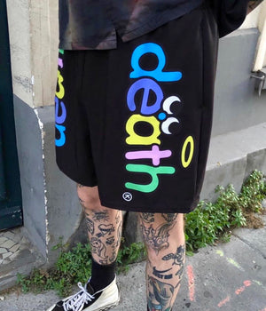 Death® Black Shorts