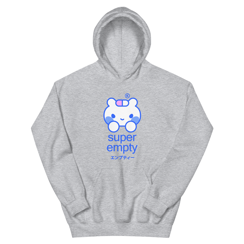 SUPER EMPTY® Grey Edition Hoodie