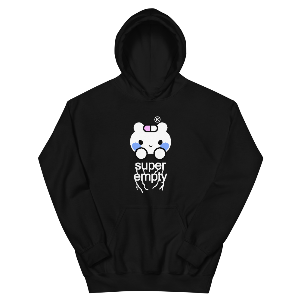 SUPER EMPTY® Black Edition Hoodie