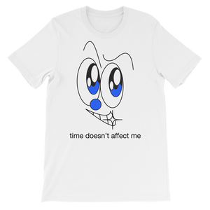 TIME® T-shirt (white, grey)