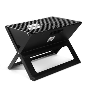 BBQ Blokes Notebook Portable Charcoal BBQ Grill
