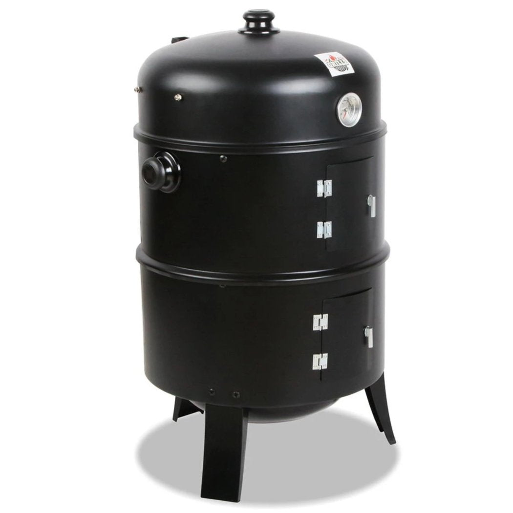 Charcoal Barbeque Smoker