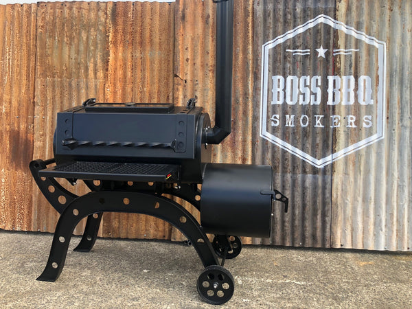 "18"" Boss BBQ Smoker - Contact for shipping & Optional Extras Quote."