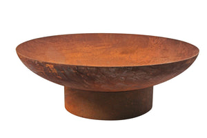 Rust Fire Pit Dia 90cm 3mm Thickness