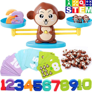 Monkey Balance Math Games for Boys and Girls