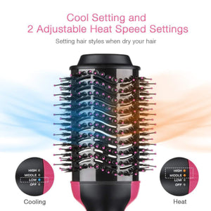 2 in 1 Multifunctional Hair Dryer Volumizer Rotating
