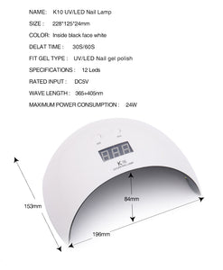UV Lamp LED Nail Dryer