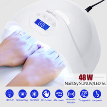 Load image into Gallery viewer, UV Lamp LED Nail Dryer