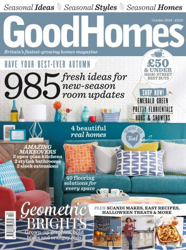 Whats Trending in Good Homes Magazine - We are!! Sicily Wallpaper