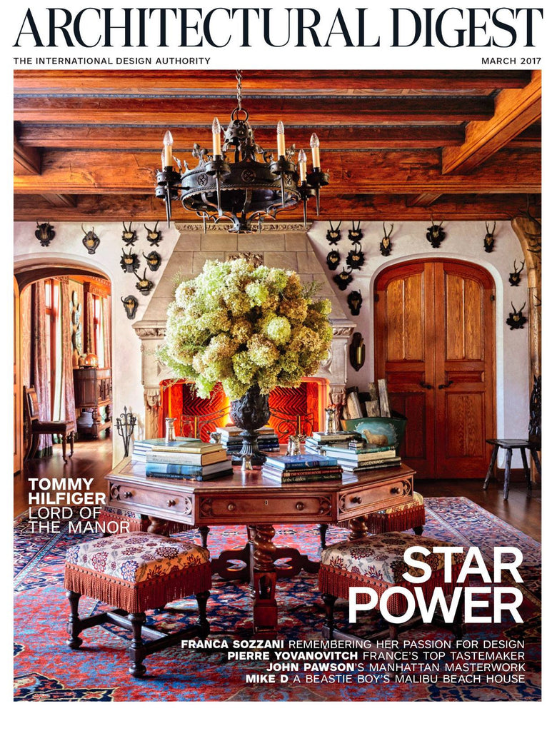 WOW!! What a Nice Surprise! Trends Spot for Architectural Digest Magazine - March 2017!!