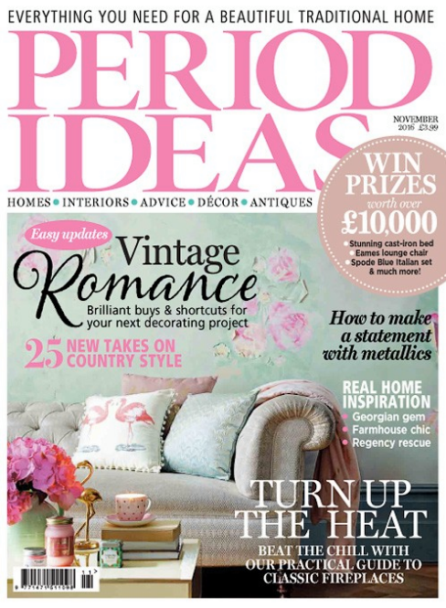 Find us in Period Living Magazine!! November 2016