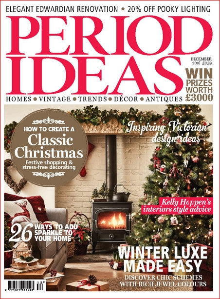 Wow!! We made the Christmas edition of Period Ideas!!