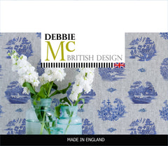 willow denim wallpaper collection - debbie mckeegan