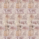 Around The World Neutral Panel - DebbieMcKeegan - Wallpaper - 3