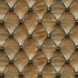 Chesterfield Faux Leather - DebbieMcKeegan - Wallpaper - 1