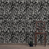 Black London Brick - DebbieMcKeegan - Wallpaper - 2