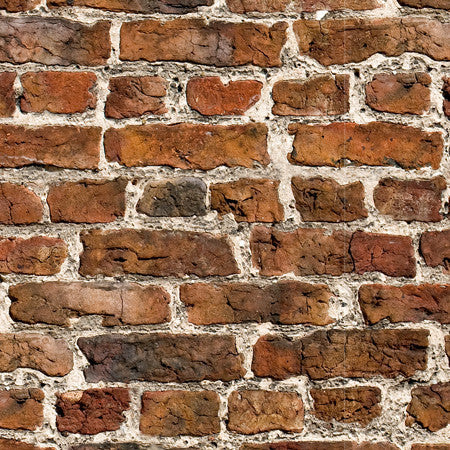 London Brick Custom Mural - DebbieMcKeegan - Wallpaper - 1
