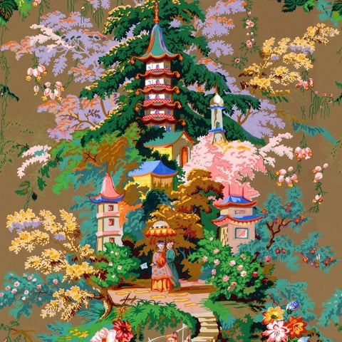 Royal Pagoda (fabric)