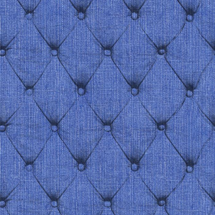 Denim Chesterfield - Indigo (fabric)