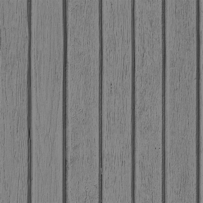 Sawn Wood Slats- Grey - DebbieMcKeegan - Wallpaper - 1