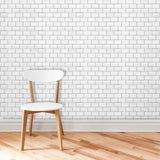 District Line Tile - White