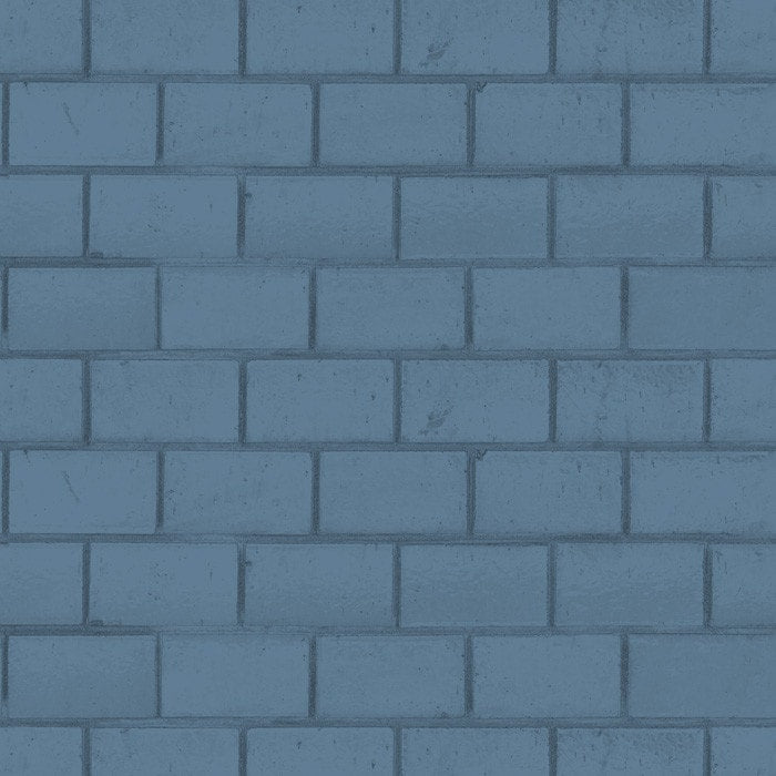 District Line Tile - Dusty Blue
