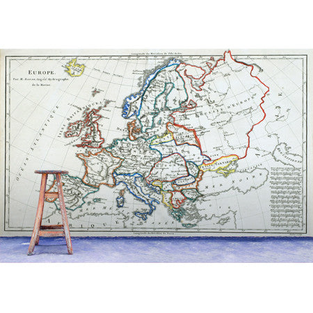 Europe Coloured Map - DebbieMcKeegan - Wallpaper - 2