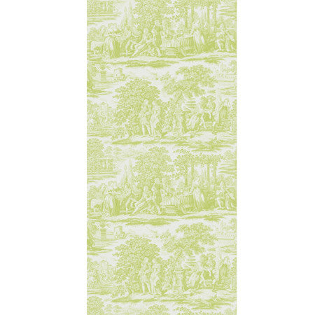 Garden Toile Lime - DebbieMcKeegan - Wallpaper - 3