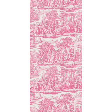 Garden Toile Pink - DebbieMcKeegan - Wallpaper - 3