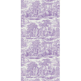 Garden Toile Purple - DebbieMcKeegan - Wallpaper - 3