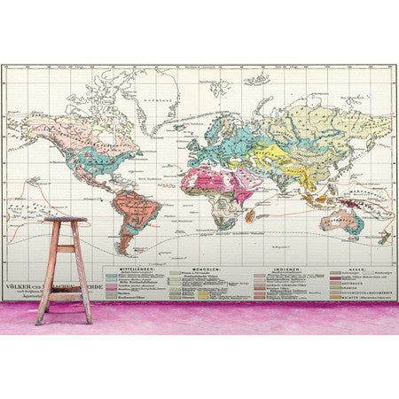 Historic World Map - DebbieMcKeegan - Wallpaper - 2