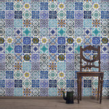 Lisbon Tile : Custom Mural - DebbieMcKeegan - Wallpaper - 2