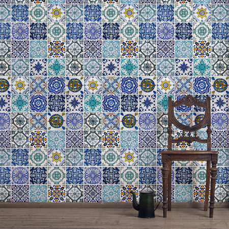 Lisbon Tile - DebbieMcKeegan - Wallpaper - 1