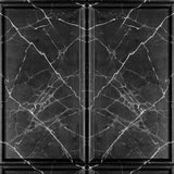 Painted Marble Panel Black