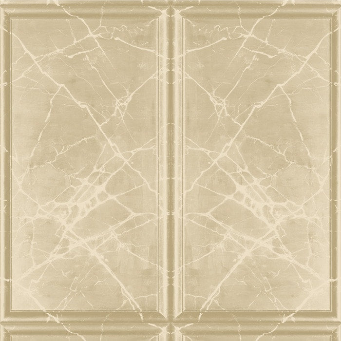 Painted Marble Panel Caramel