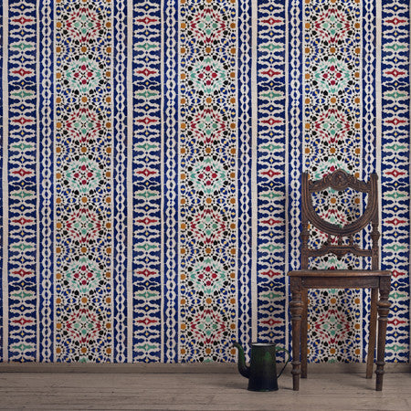 Moulay Tile - DebbieMcKeegan - Wallpaper - 1