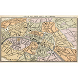 Old Paris Map - DebbieMcKeegan - Wallpaper - 3