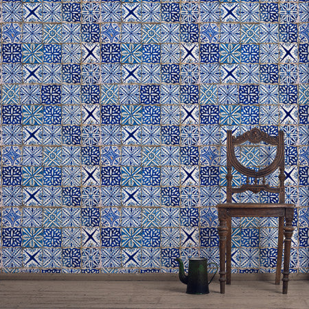 Oporto Tile - DebbieMcKeegan - Wallpaper - 1