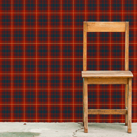 Red Tartan - DebbieMcKeegan - Wallpaper - 1