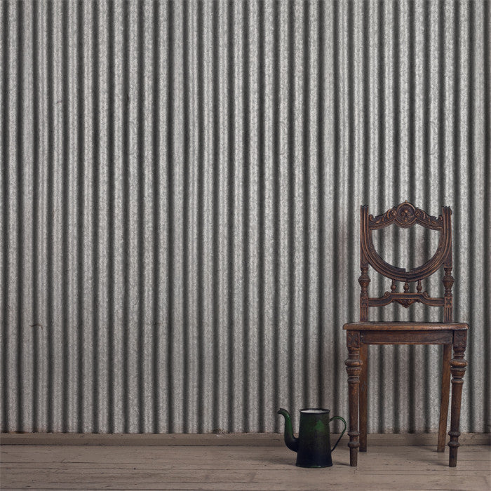 Corrugated Tin - DebbieMcKeegan - Wallpaper - 1