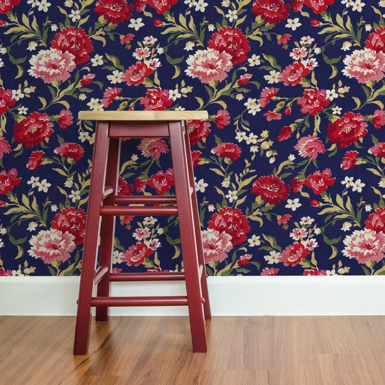 Rock the Floral trend with one of our gorgeous new Floral Bloom Patterns.  This beautiful collection inspired by the vintage patterns of the 18th and 19th century. Reworked with a fresh new take for contemporary Interiors.   Choose from our striking Wallpaper + Fabric designs. Patterns feature Carnations blooms, Roses, and Hydrangeas to dress your home in Royal Luxury.