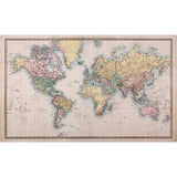 Vintage World Map Mural - DebbieMcKeegan - Wallpaper - 3