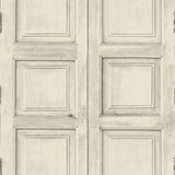Wooden Square Panels- Bone - DebbieMcKeegan - Wallpaper - 1
