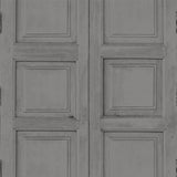 Wooden Square Panels- Mole Grey - DebbieMcKeegan - Wallpaper - 1