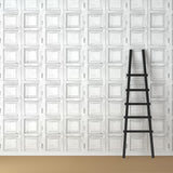 Wooden Panels - Square - DebbieMcKeegan - Wallpaper - 1