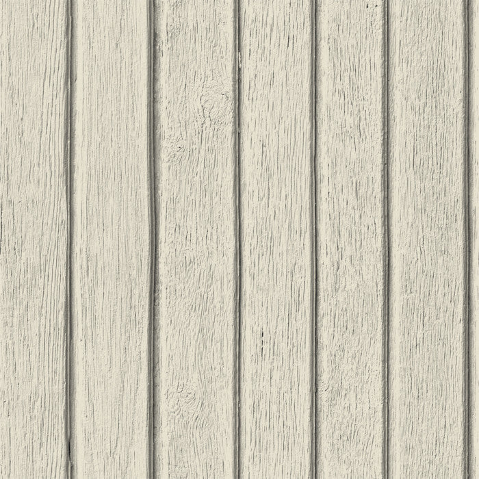 Sawn Wood Slats- Bone - DebbieMcKeegan - Wallpaper - 1