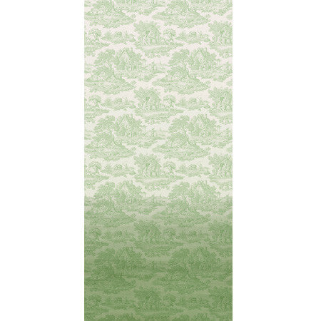 Pistachio Ombre Country Toile - DebbieMcKeegan - Wallpaper - 3