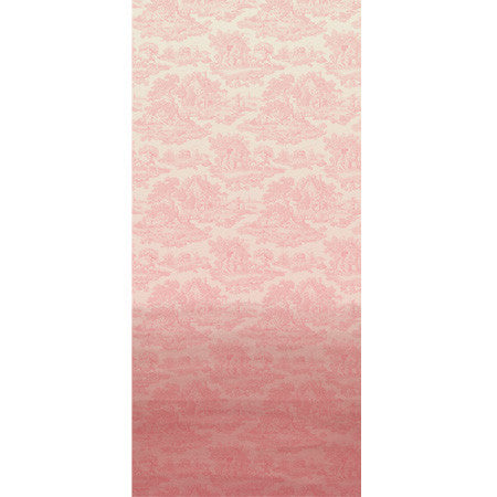 Pink Ombre Country Toile - DebbieMcKeegan - Wallpaper - 3