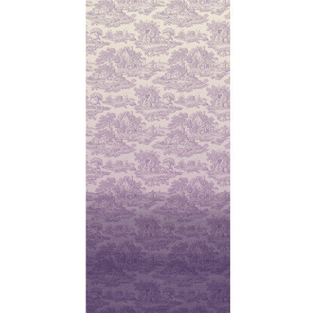 Lilac Ombre Country Toile - DebbieMcKeegan - Wallpaper - 3